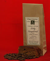Get stuck in …. new Sticky Gingerbread flavoured coffee launched by coffee specialist Cherizena