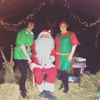 Santa and Croots Elves