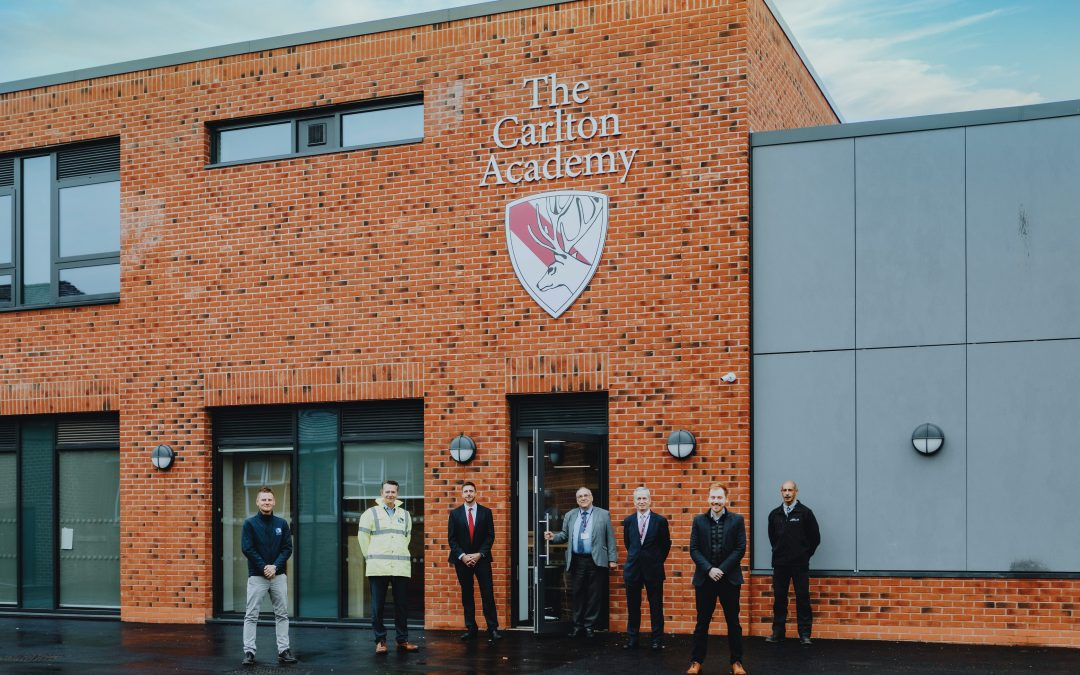 Henry Brothers Midlands hands over new teaching block at The Carlton Academy