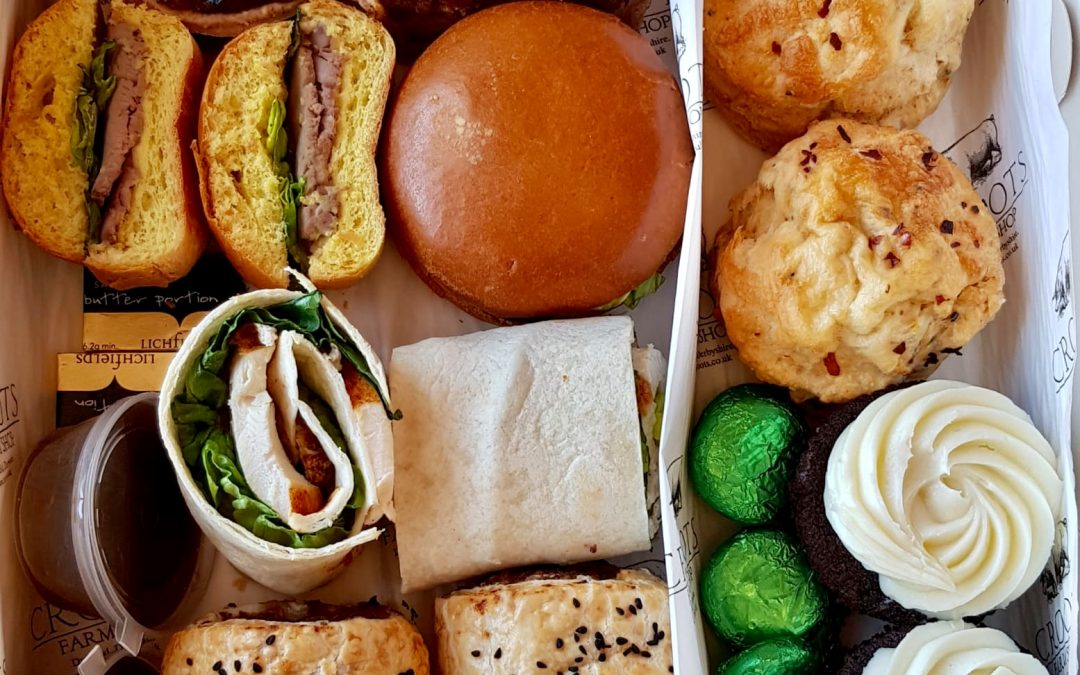 Croots Farm Shop offers 'click and collect' Father's Day afternoon tea special