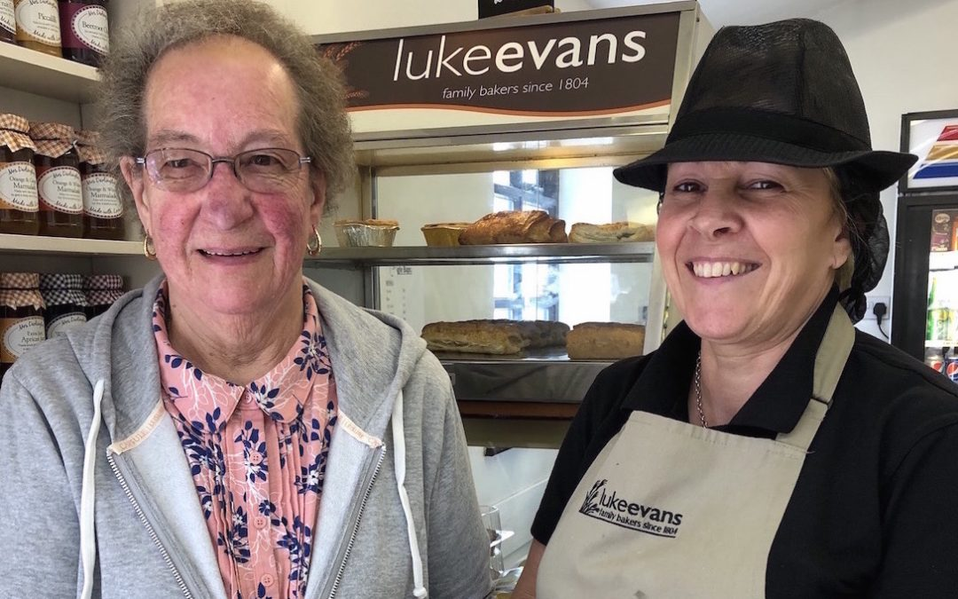 Luke Evans Bakery rewards loyal customer of more than 70 years with free bread and cakes for life