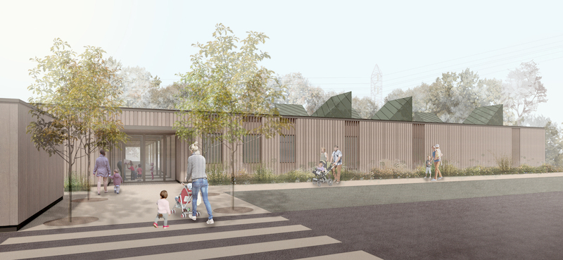 Henry Brothers to build new net carbon zero Nursery and Forest School for Staffordshire University