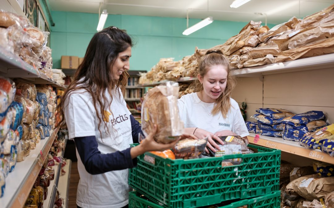 Food Innovation Centre and Foodprint collaborate on an award-winning sweet treat made from stale bread by University of Nottingham students