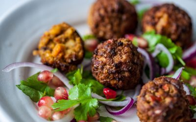 Falafels boost free-from range at Central Foods