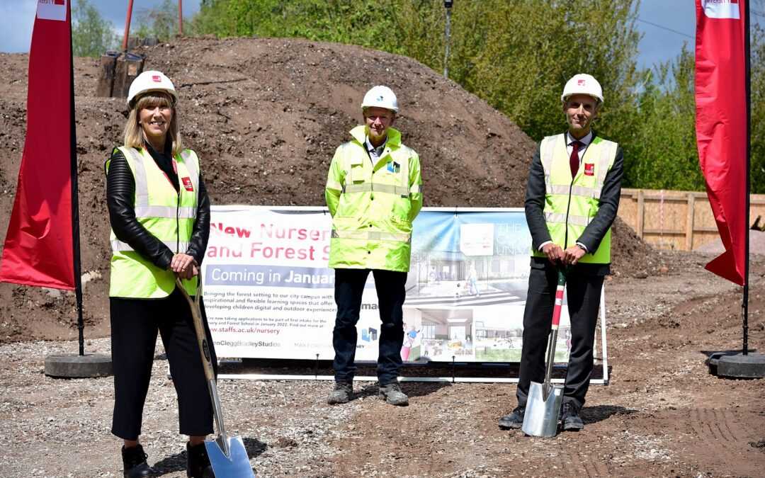 Henry Brothers starts work on Staffordshire University's first net-zero carbon facility