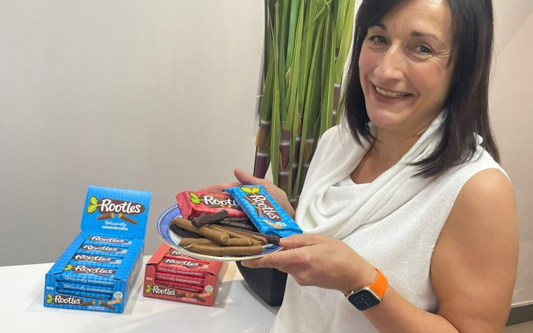 Derbyshire baking expert launches chocolate-covered crunchy carrot biscuits Rootles
