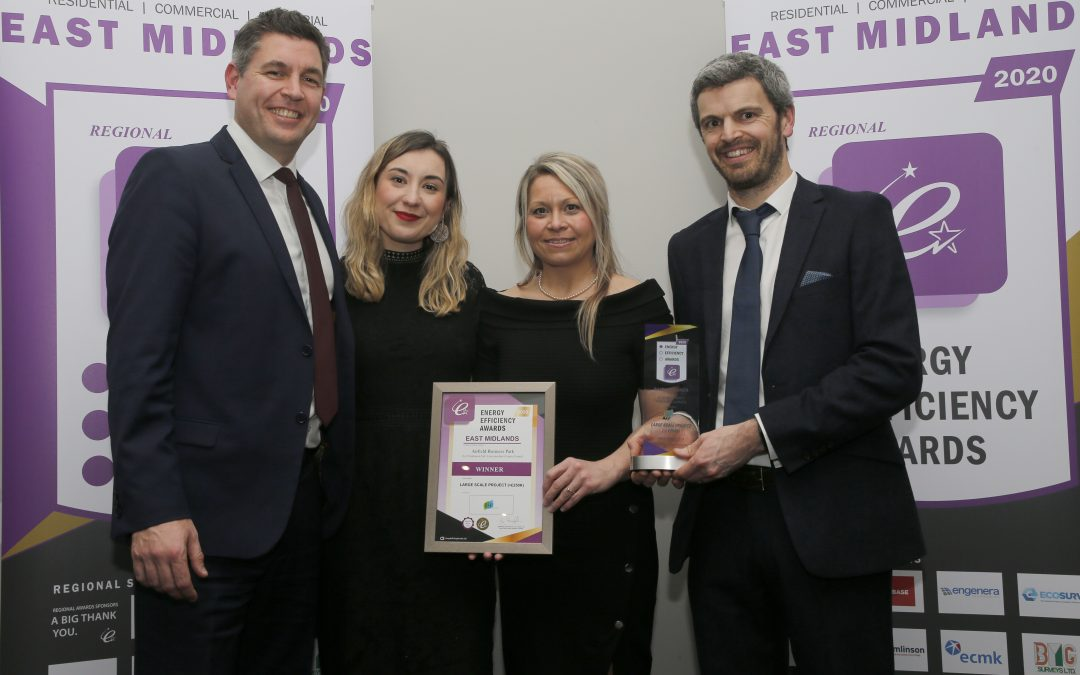 J Tomlinson project wins at East Midlands Energy Efficiency Awards 2020