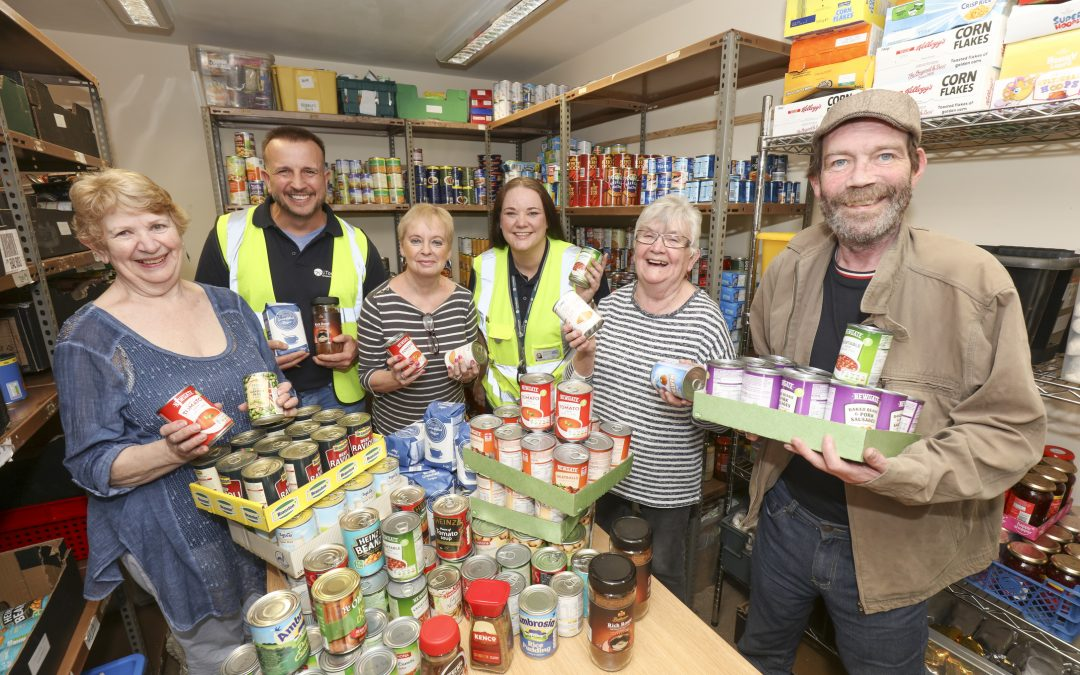 J Tomlinson helps to support the homeless in the Burton-on-Trent area