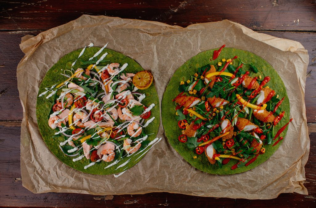 Central Foods extends its flavoured wraps range for foodservice