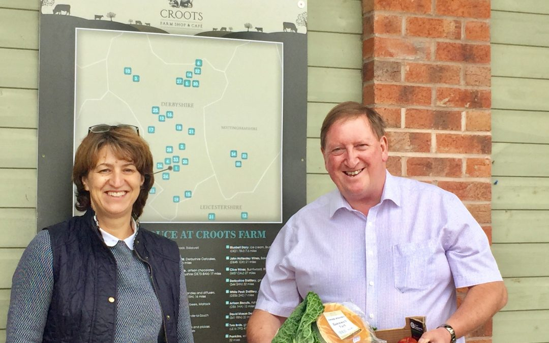 Croots Farm Shop in Derbyshire named a finalist in the 2021 Family Business of the Year Awards