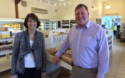 Bright Friday at Croots Farm Shop to raise money for Derbyshire Children's Holiday Centre