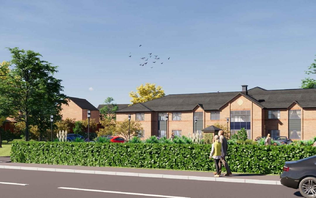 Charterpoint and LNT celebrate as care home development given the go-ahead