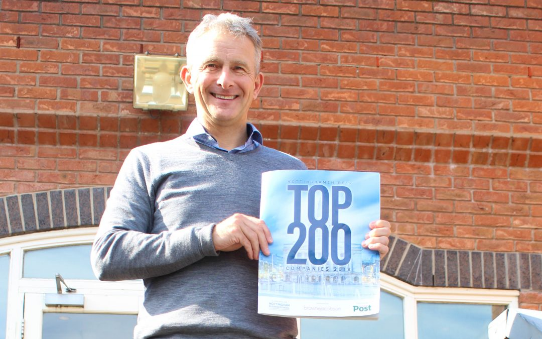 J Tomlinson continues to rise through the ranks of Nottinghamshire's top businesses