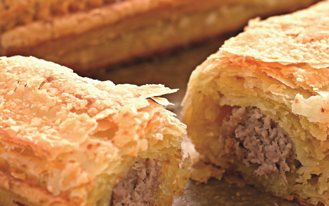 Gluten free sausage roll from Central Foods