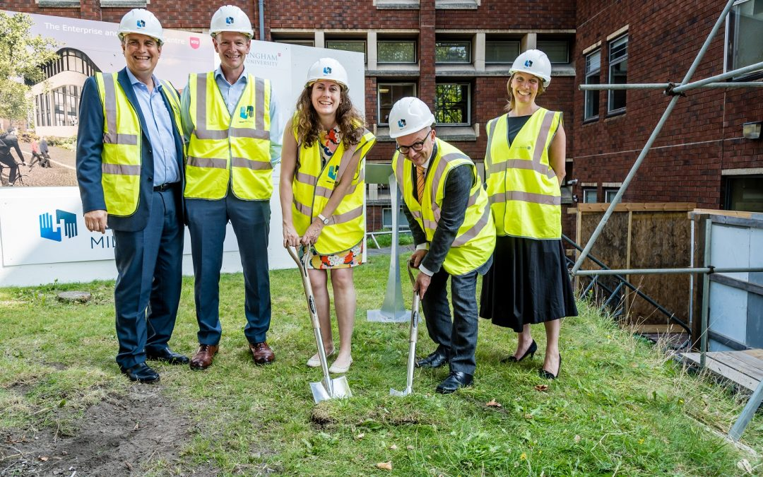 Contractor Henry Brothers starts work on £9m Nottingham Trent University Enterprise Innovation Centre