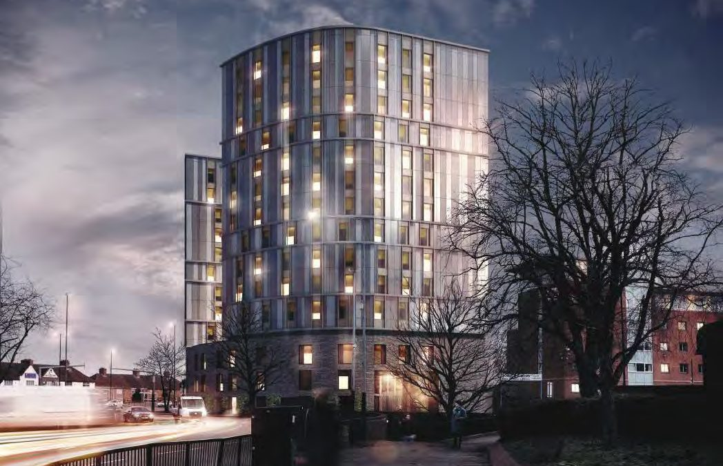 J Tomlinson awarded student accommodation contract