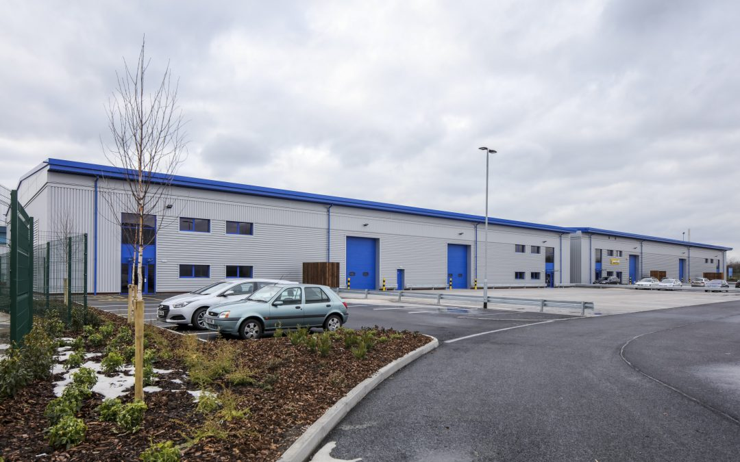 J Tomlinson completes 70,000 sq. ft. West Midlands light industrial unit project