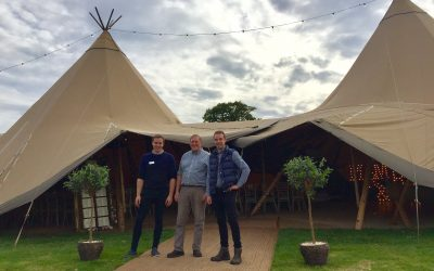 New country wedding reception venue unveiled at Croots Farm Shop in Derbyshire