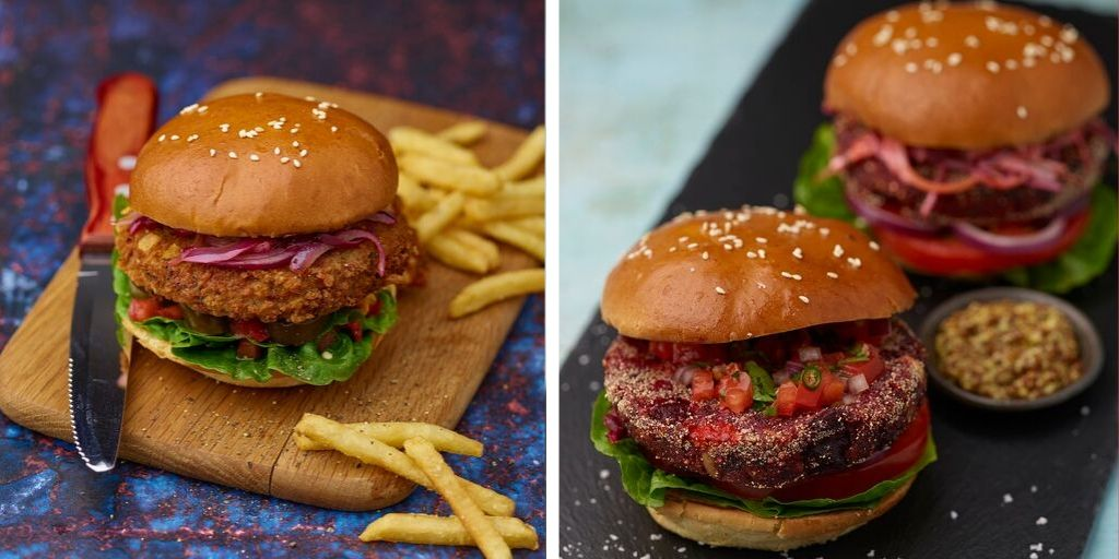 Central Foods launches two new plant-based burgers for foodservice customers