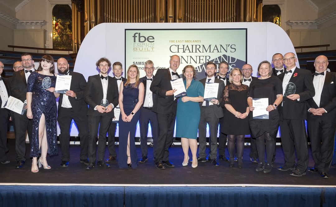 Winners of the fbe East Midlands Awards 2019 announced